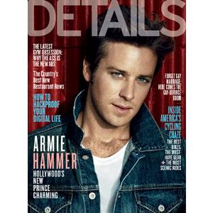 Armie Hammer, Details Cover