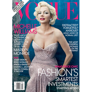 Michelle Williams, Vogue Cover
