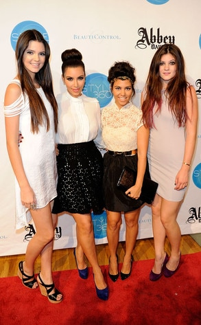 Kendall Jenner, Kim Kardashian, Kourtney Kardashian, Kylie Jenner