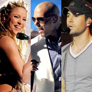 Shakira, Pitbull, Enrique Iglesias