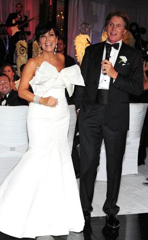 Kris Jenner, Bruce Jenner, Kardashian, Wedding