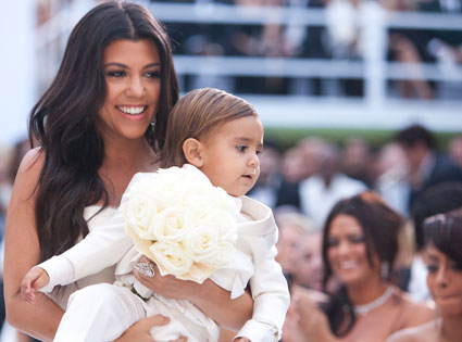 Kim Kardashian, Wedding, Mason Disick, Kourtney Kardashian