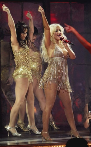 Christina Aguilera, Dancing with the Stars Performances, DWTS