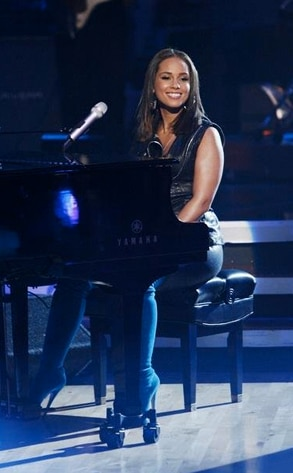 Alicia Keys, Dancing with the Stars Performances, DWTS