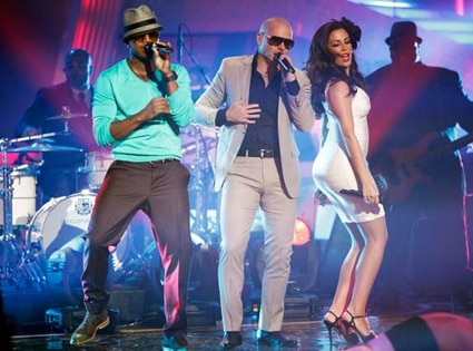 Ne-Yo, Pitbull, Dancing with the Stars Performances, DWTS