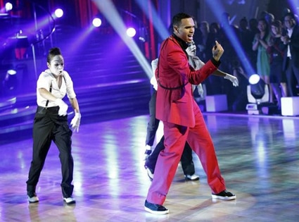 Chris Brown, Dancing with the Stars Performances, DWTS