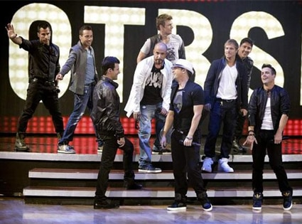 New Kids on the Block, Backstreet Boys, Dancing with the Stars Performances, DWTS