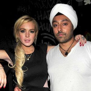 Lindsay Lohan, Vikram Chatwal