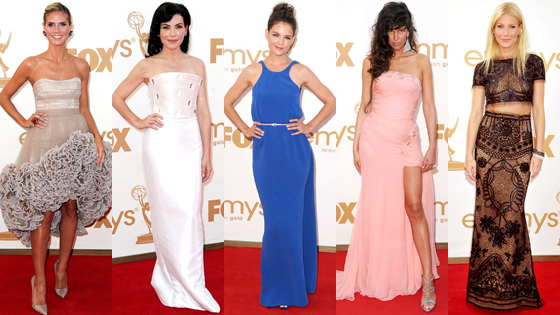 Heidi Klum, Julianna Margulies, Katie Holmes, Paz de la Huerta, Gwyneth Paltrow