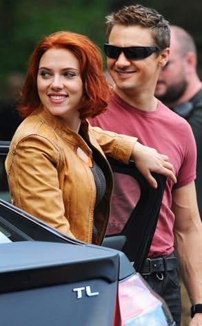 Scarlett Johansson, Jeremy Renner