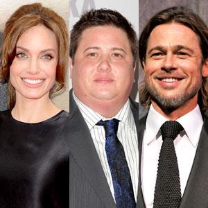 Angelina Joliie, Chaz Bono, Brad Pitt