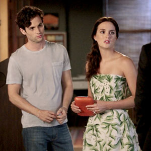 Gossip Girl, Penn Badgley, Leighton Meester