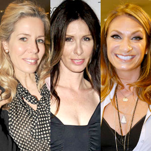 HEATHER THOMSON, CAROLE RADZIWILL, AVIVA DRESCHER