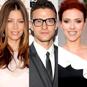 Jessica Biel, Justin Timberlake, Scarlett Johansson