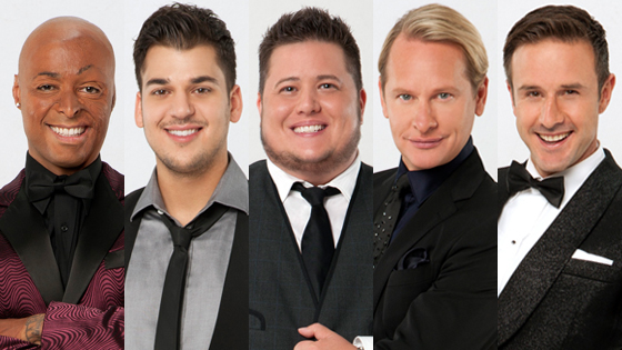 JR Martinez, Rob Kardashian, Chaz Bono, Carson Kressly, David Arquette, DWTS 13