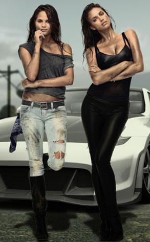 Irina Shayk, Chrissy Teigen, Need for Speed The Run