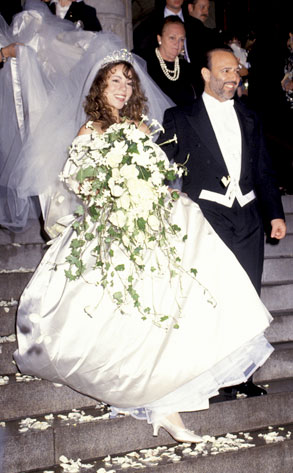 10 Best Weddings Ever Mariah Carey and Tommy Mottolas Splashy