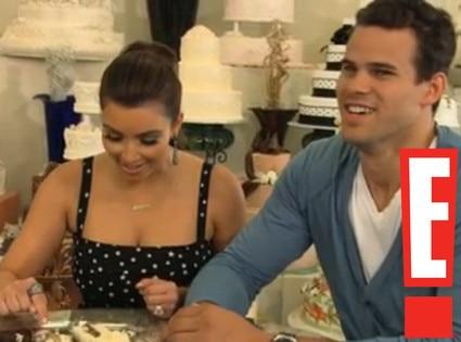Kim Kardashian, Kris Humphries, Kim's Fairy Tale Wedding Screen Grabs