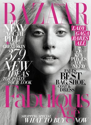 Lady Gaga, Harpers Bazaar cover
