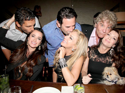 The Real Houswives of Beverly Hills, Adrienne Maloof, Kyle Richards, Lisa Vanderpump