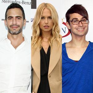 Marc Jacobs, Rachel Zoe, Christian Siriano