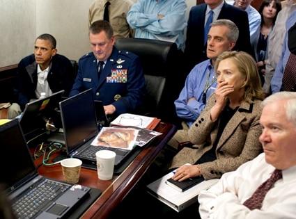Barack Obama, Joe Biden, Hillary Clinton