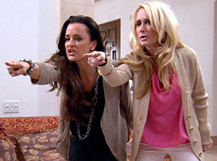 Real Housewives of Beverly Hills Recap: Kyle and Kim Richards Tag-Team  Their Mean Girl Routine - E! Online