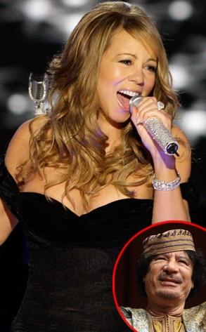 Mariah Carey, Muammar Gaddafi