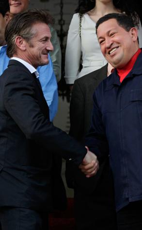 Sean Penn, Hugo Chavez