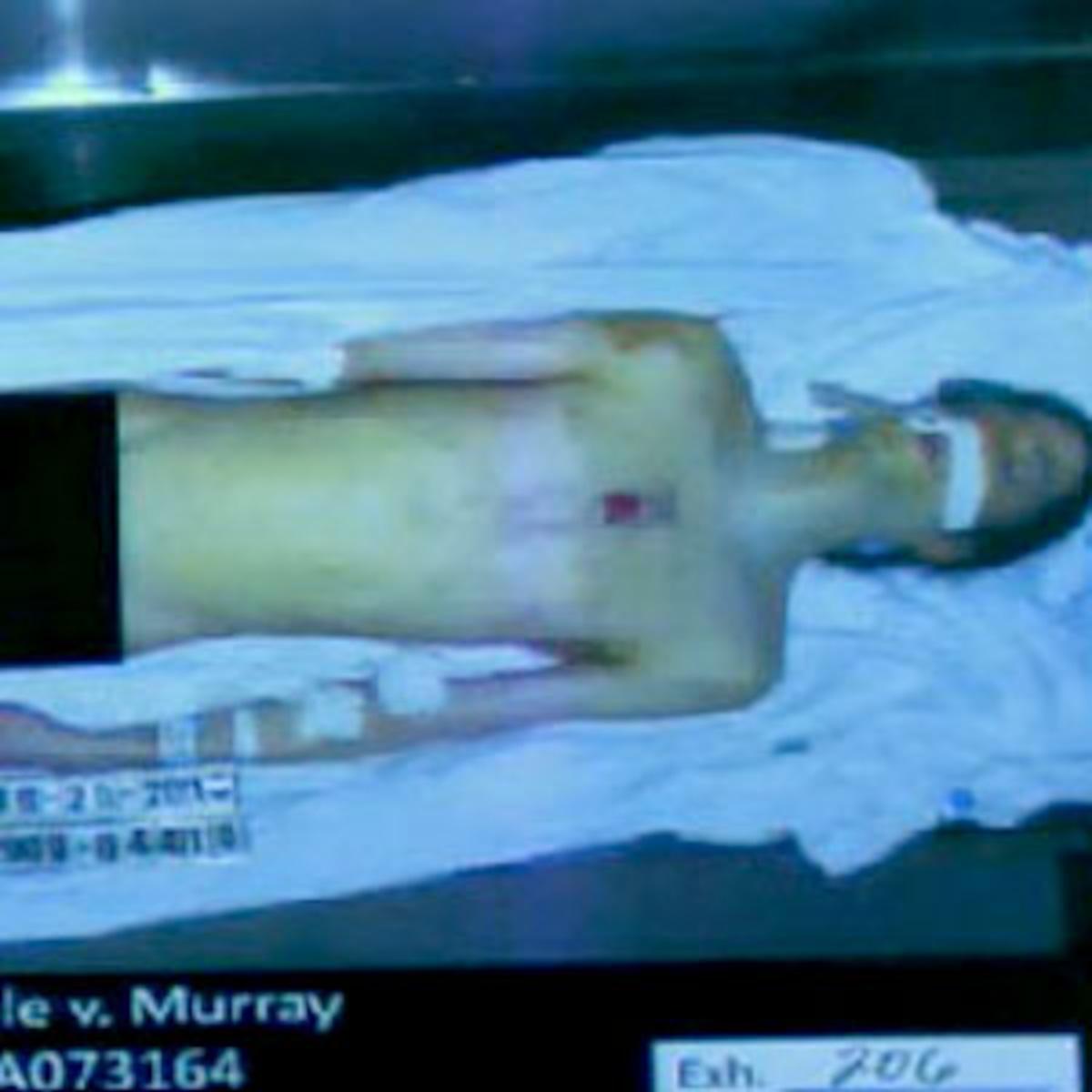Michael Jackson Nude