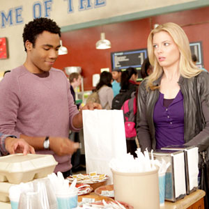 Gillian Jacobs, Donald Glover, Community