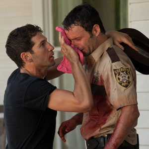 Jon Bernthal, Andrew Lincoln, The Walking Dead