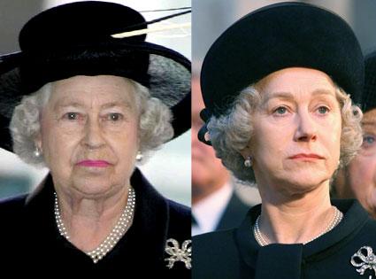 Queen Elizabeth, Helen Mirren, The Queen