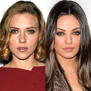 Scarlett Johansson, Mila Kunis