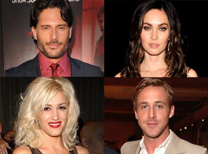 Joe Manganiello, Megan Fox, Gwen Stefani, Ryan Gosling