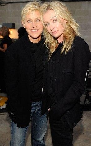 A Decade of Difference Concert, Ellen DeGeneres, Portia De Rossi