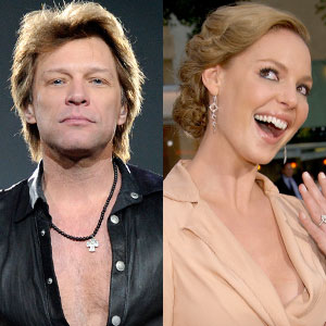 Jon Bon Jovi, Katherine Heigl