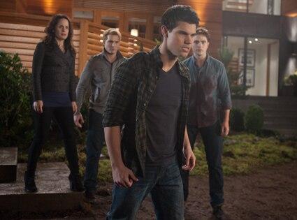 Taylor Lautner, Elizabeth Reaser, Peter Facinelli, Robert Pattinson, Breaking Dawn Part 1