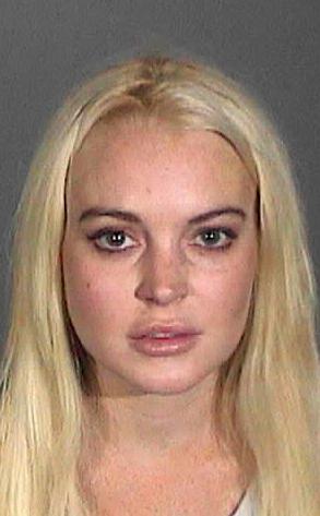 Lindsay Lohan, Mug Shot