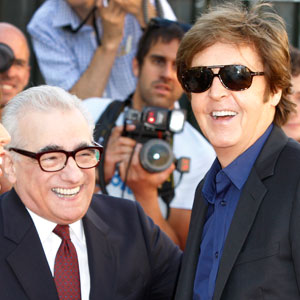 Martin Scorsese, Paul McCartney