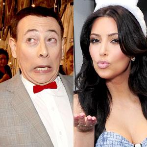 Paul Reubens, Kim Kardashian