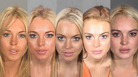 Lindsay Lohan, Mugshot
