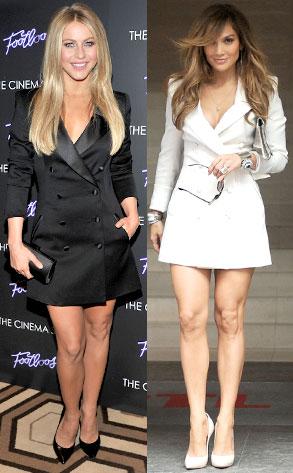 Julianne Hough, Jennifer Lopez