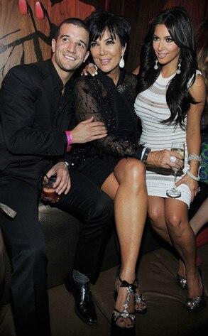 Kim Kardashian, Kris Jenner, Mark Ballas