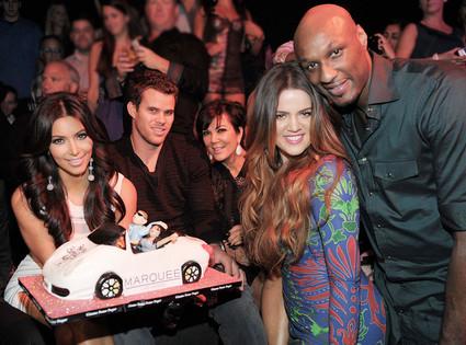 Kim Kardashian, Kris Humphries, Kris Jenner, Khloe Kardashian Odom, Lamar Odom