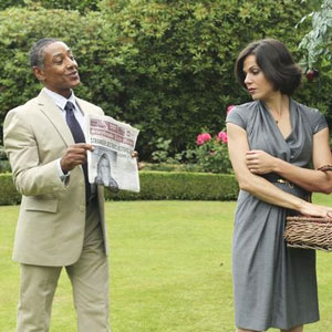 Giancarlo Esposito, Lana Parrilla, Once Upon a Time