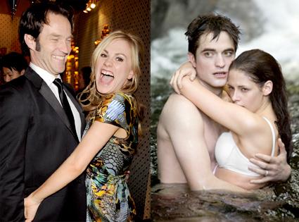 Stephen Moyer, Anna Paquin,  Robert Pattinson, Kristen Stewart