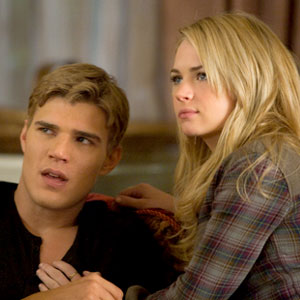 Chris Zylka, Britt Robertson, the Secret Circle