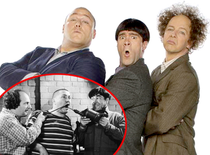 Three Stooges, Larry Fine, Moe Howard, Curly Howard, Will Sasso, Sean Haye, Chris Diamantopoulos