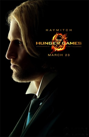 Woody Harrelson, Hunger Games Poster